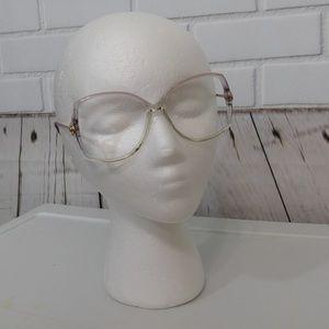 Vintage Gucci Eyeglass Oversized Frames Purple